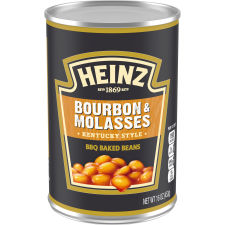 Heinz Kentucky Style Bourbon & Molasses BBQ Baked Beans 16 oz Can