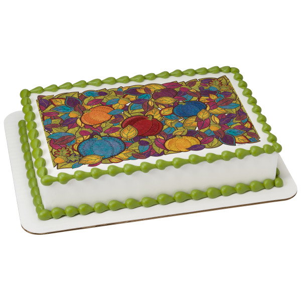 Harvest of Hues PhotoCake® Edible Image®