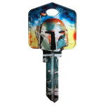 Star Wars Boba Fett Key Blank