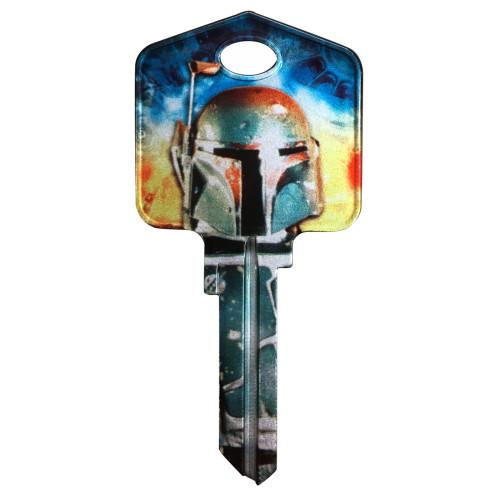 Star Wars Boba Fett Key Blank Kwikset 66/97 KW1/10