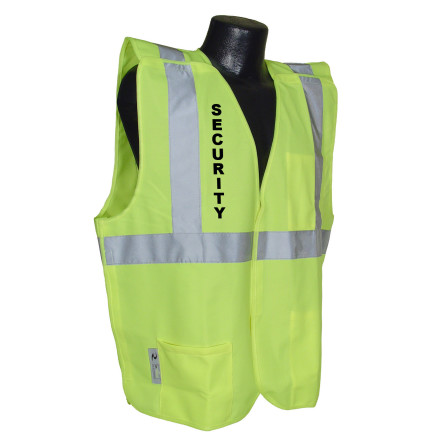 Radians SV4 Economy Type R Class 2 Public Safety Security Legend Breakaway Safety Vest