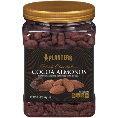 Planters Cocoa Almonds 37 oz Jar