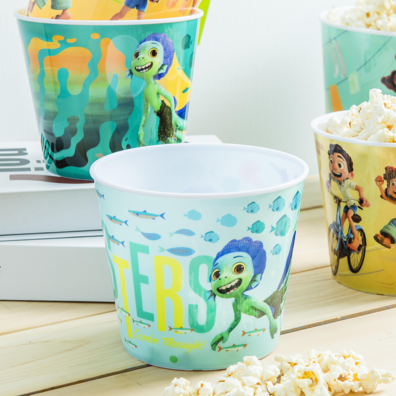 Disney and Pixar Plastic Popcorn Container and Bowls, Luca, 5-piece set slideshow image 7