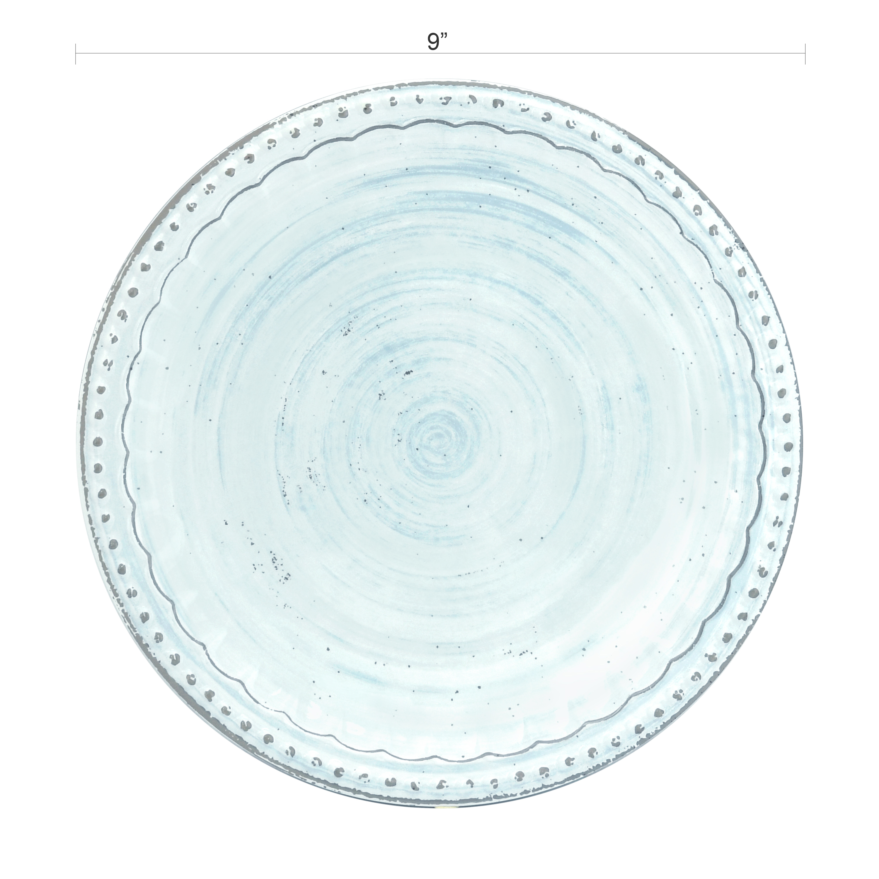 French Country Plate & Bowl Sets, Blue, 12-piece set slideshow image 5