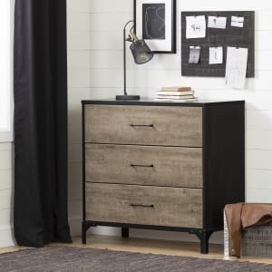 Valet - 3-Drawer Chest Dresser