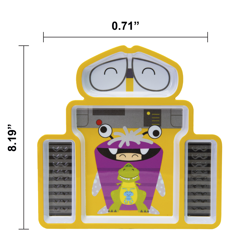 Disney and Pixar Plate and Bowl Set, Wall-E, 2-piece set slideshow image 5