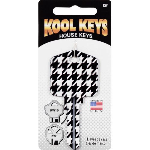 Kool Keys Houndstooth Key Blank Kwikset 66/97 KW1/10
