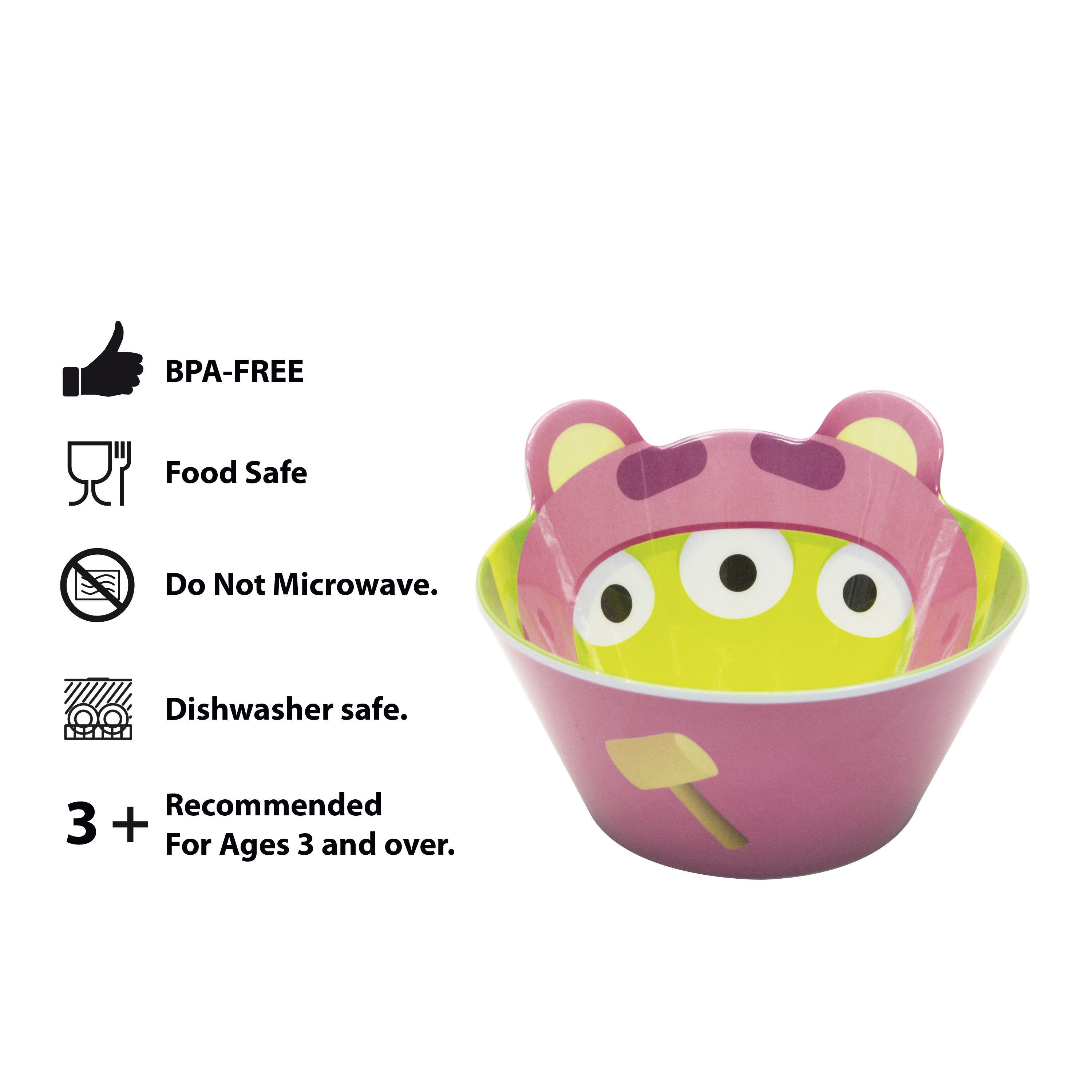Disney and Pixar Toy Story 4 Plate and Bowl Set, Lotso, 2-piece set slideshow image 9