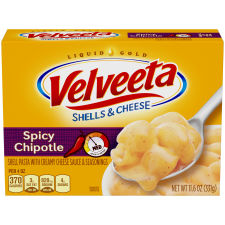 Velveeta Bold Chipotle Shells & Cheese 11.6 oz Box