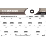 Metric Solid Shaft Collars Assortment