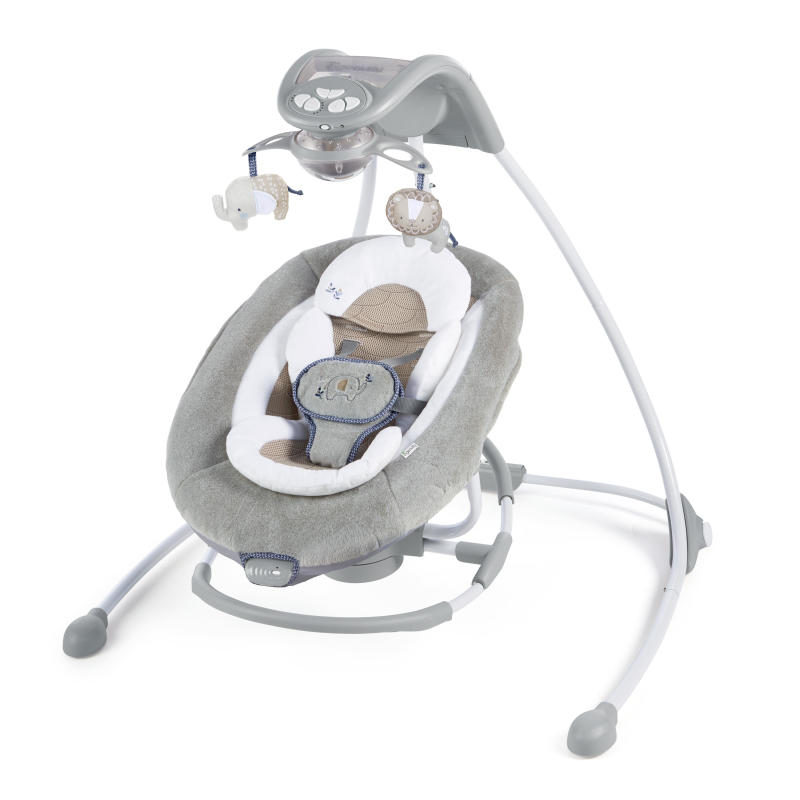 DreamComfort™ InLighten Cradling Swing & Rocker™ - Townsend™