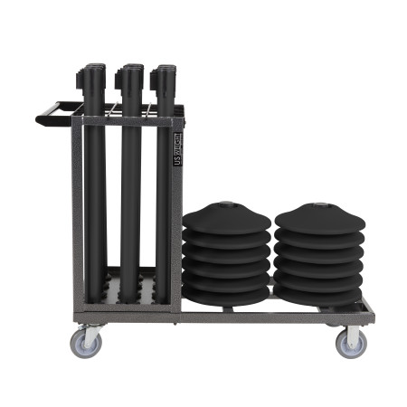 Statesman Cart Bundle - Black Steel 8