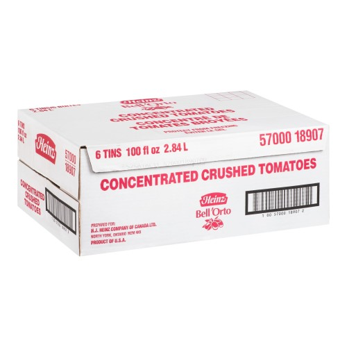 BELL'ORTO Concentrated Crushed Tomato Juice 2.84L 6