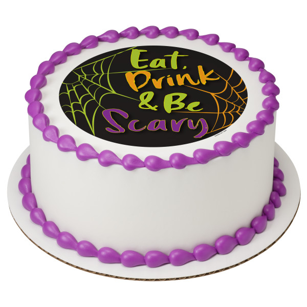And Be Scary Web PhotoCake® Edible Image®