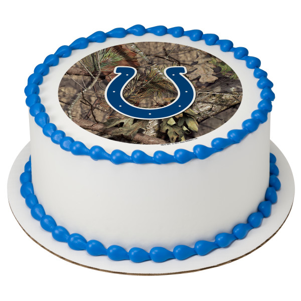 NFL Indianapolis Colts Mossy Oak® PhotoCake® Edible Image®