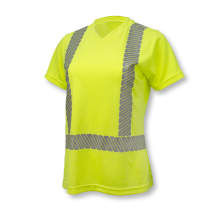 Radians ST11W Class 2 High Visibility Women's Safety T-Shirt with Max-Dri™