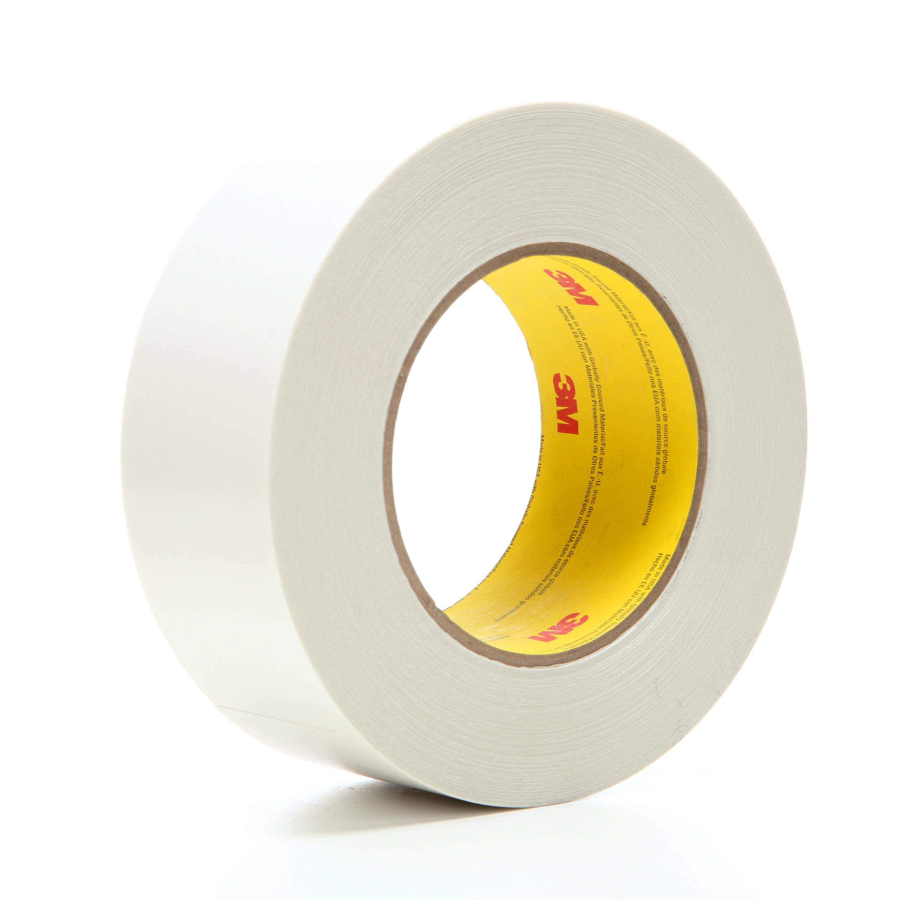 3M™ Double Coated Tape 9738, Clear, 48 mm x 55 m, 4.3 mil, 24 rolls per case
