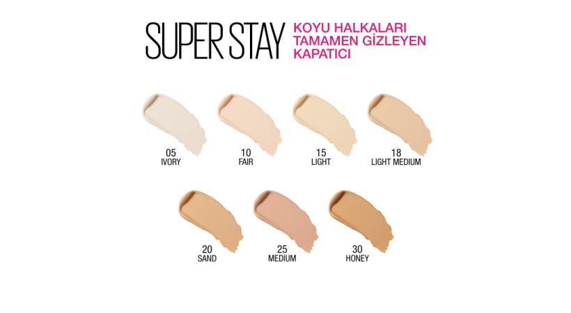 Maybelline New York Super Stay Kapatıcı - 05 Ivory