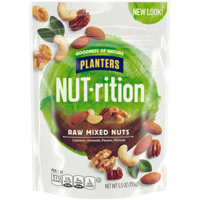 PLANTERS Raw Mixed Nuts 5.5 oz Bag image