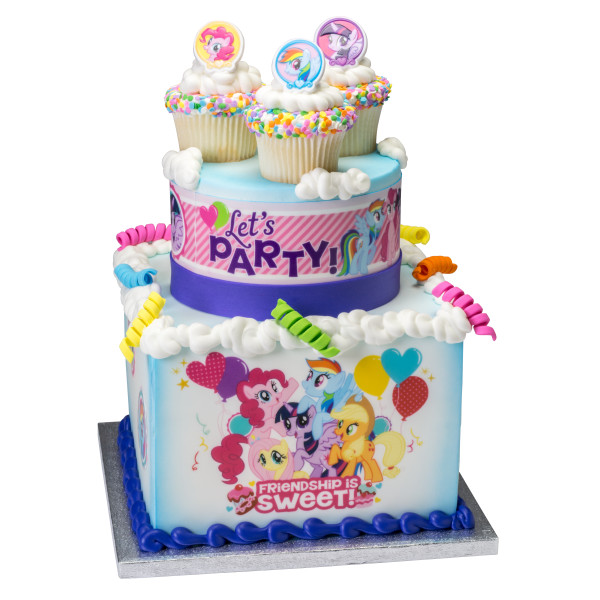 My Little Pony™ Best Ponies PhotoCake® Edible Image® Strips