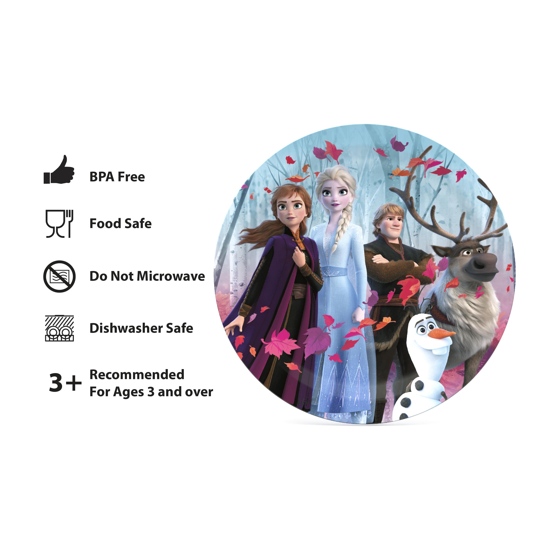 Disney Frozen 2 Movie Dinnerware Set, Anna, Elsa and Friends, 5-piece set slideshow image 8