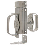 "Hardware Essentials Swinging Door Latches - For 3/4"" to 2-1/4"" Door"