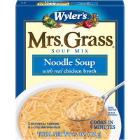 Wyler's Mrs. Grass Noodle Soup Mix 4.2 oz Box image