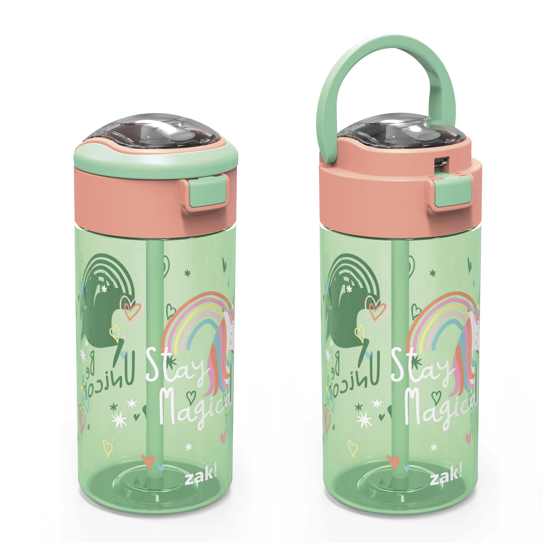 Genesis 18 ounce Water Bottles, Unicorn, 2-piece set slideshow image 4