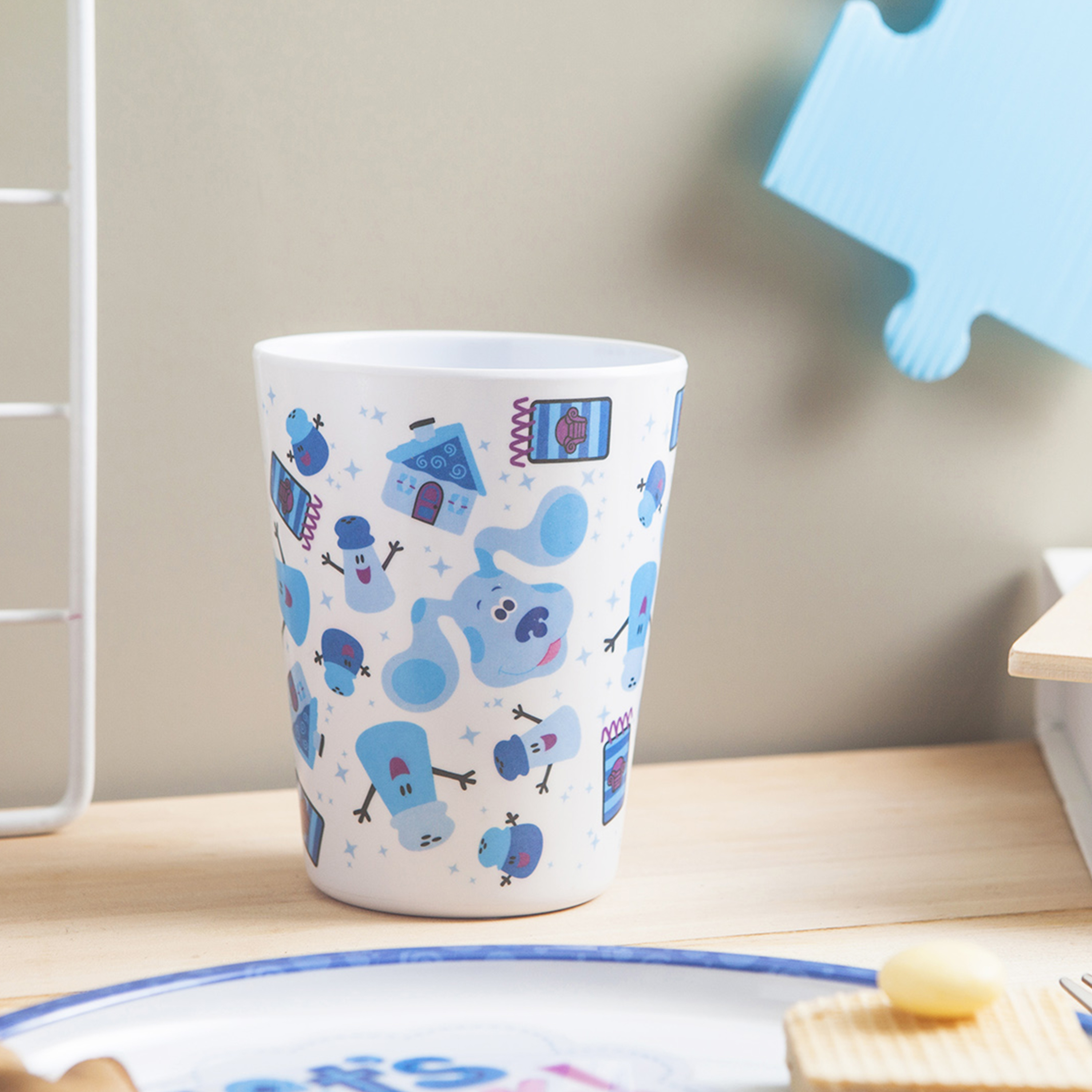 Blues Clues and You Kids Dinner Set, Blue and Friends, 5-piece set slideshow image 4