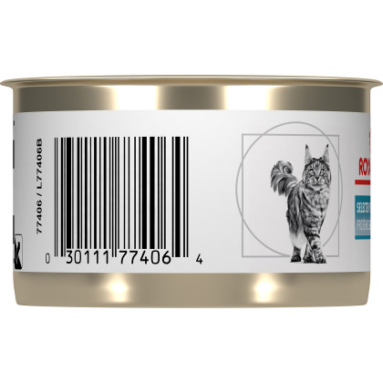Royal Canin Veterinary Diet Feline Selected Protein PD Loaf in Sauce Canned Cat Food