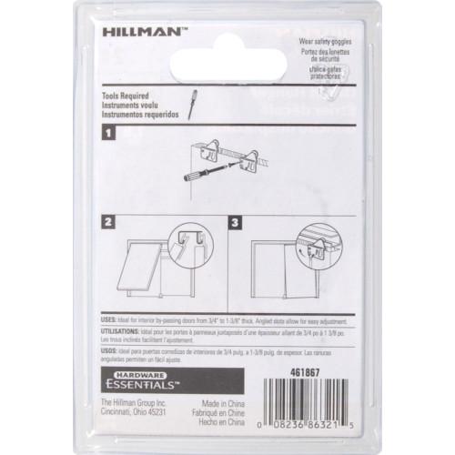 Hardware Essentials Sliding Door Hanger Offset 1/16