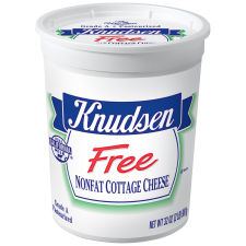 Knudsen Free Nonfat Cottage Cheese 32 oz Tub