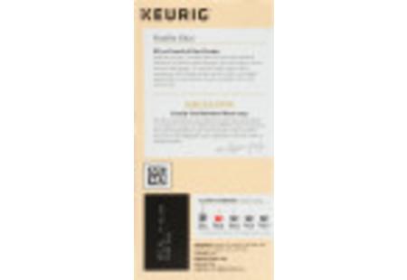 Right side Keurig Bigelow Vanilla Tea K-Cups box of 24 -ingredient panel