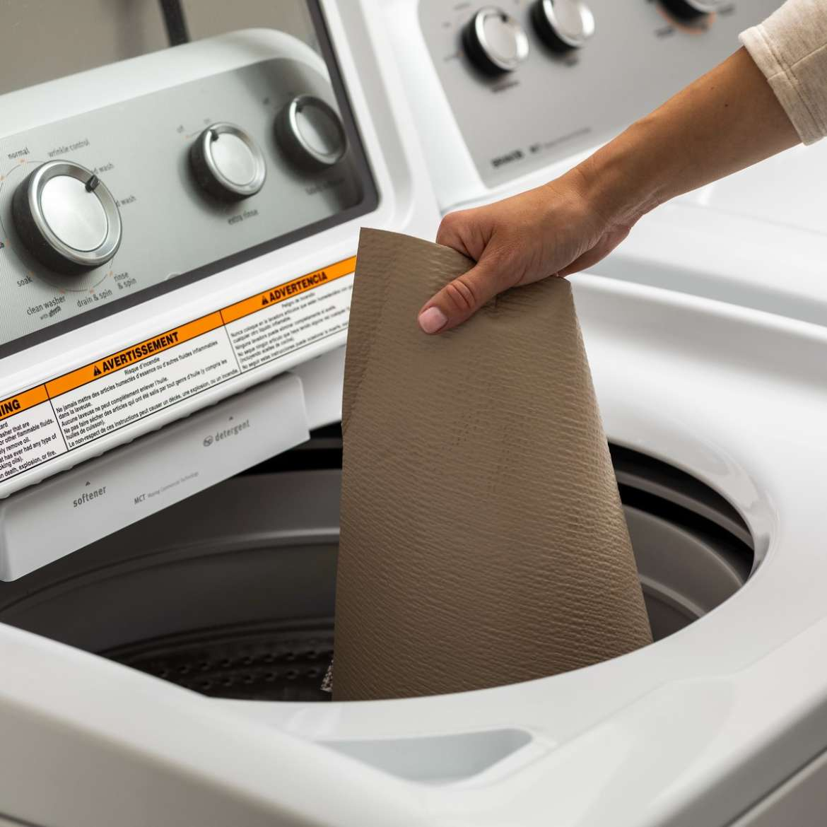 Smooth Top® Easy Liner® with Clorox®