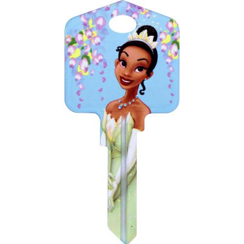 Disney Princess Tiana Key Blank Kwikset 66/97 KW1/10