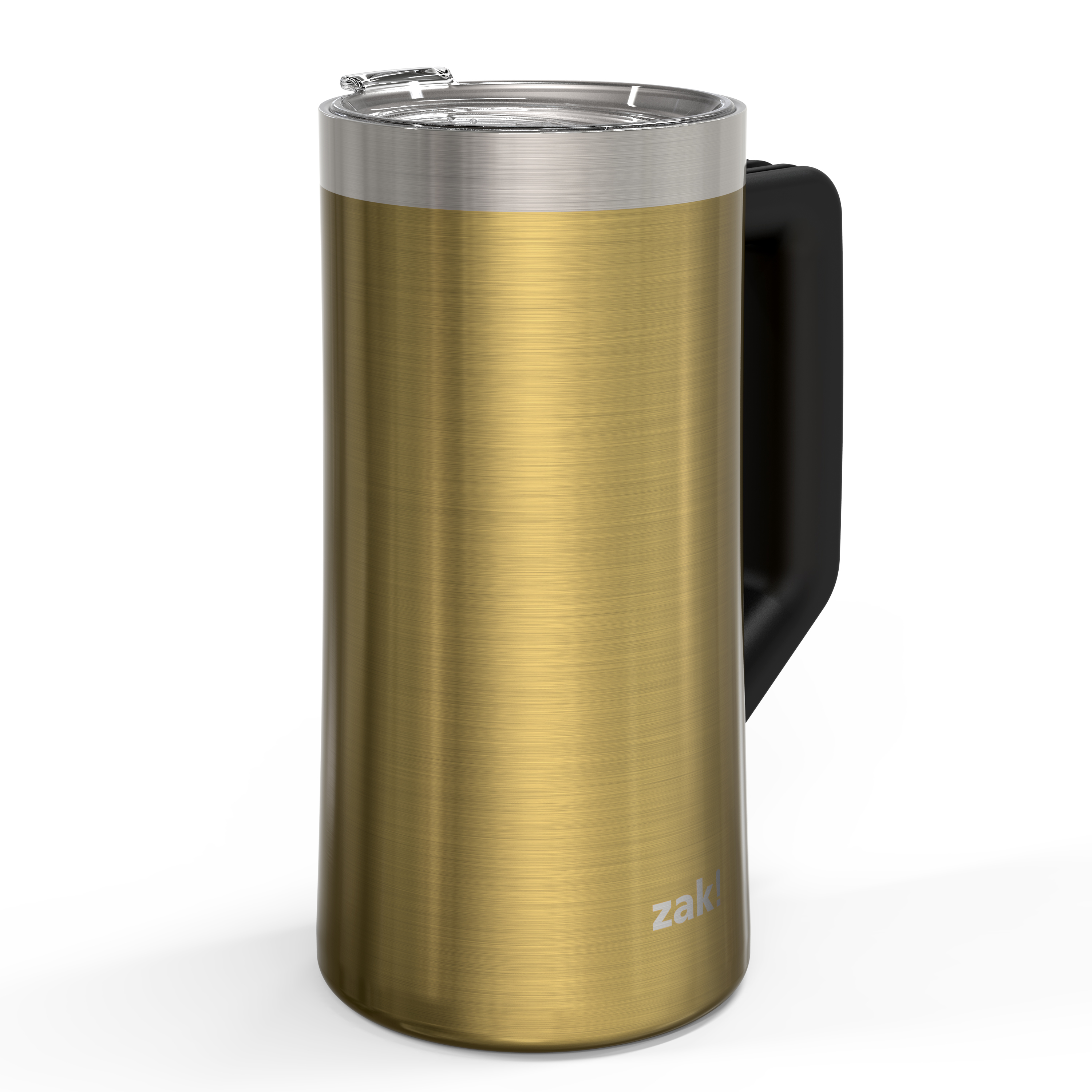 Creston 25 ounce Vacuum Insulated Stainless Steel Tumbler, Gold slideshow image 2