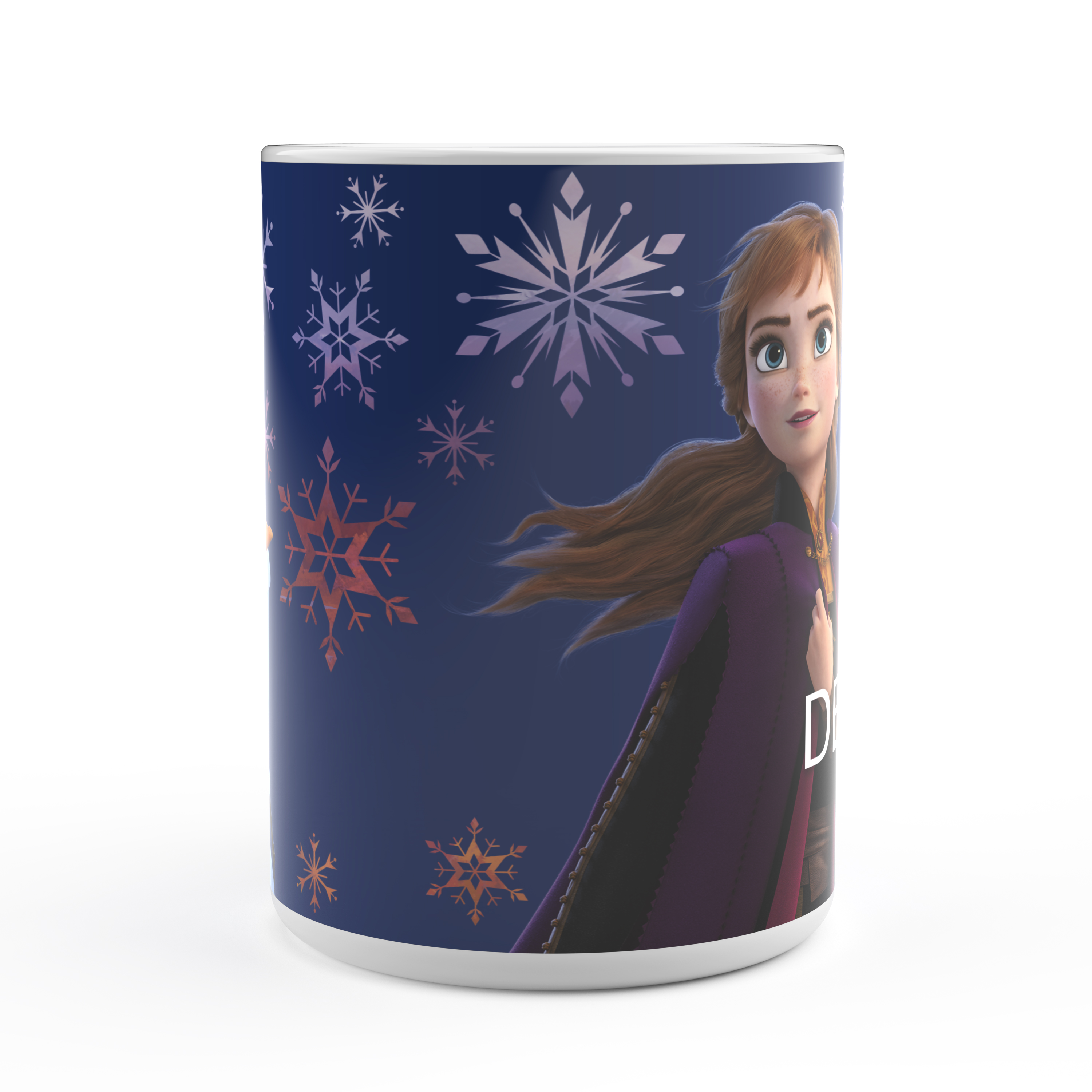 Disney Frozen 2 Movie 15 ounce Coffee Mug and Spoon, Anna, Elsa & Olaf slideshow image 4
