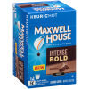 Maxwell House Intense Bold Ground Coffee K-Cup Pods, 12 count