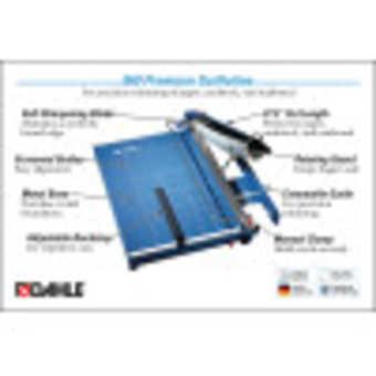 Dahle 569 Premium Guillotine InfoGraphic