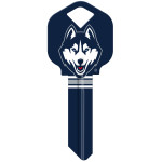 NCAA University of Connecticut Key Blank