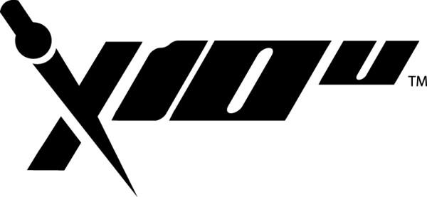 X10U lacrosse head logo