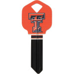 NCAA Texas Tech Key Blank