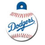 Los Angeles Dodgers Large Circle ID Spot Tag