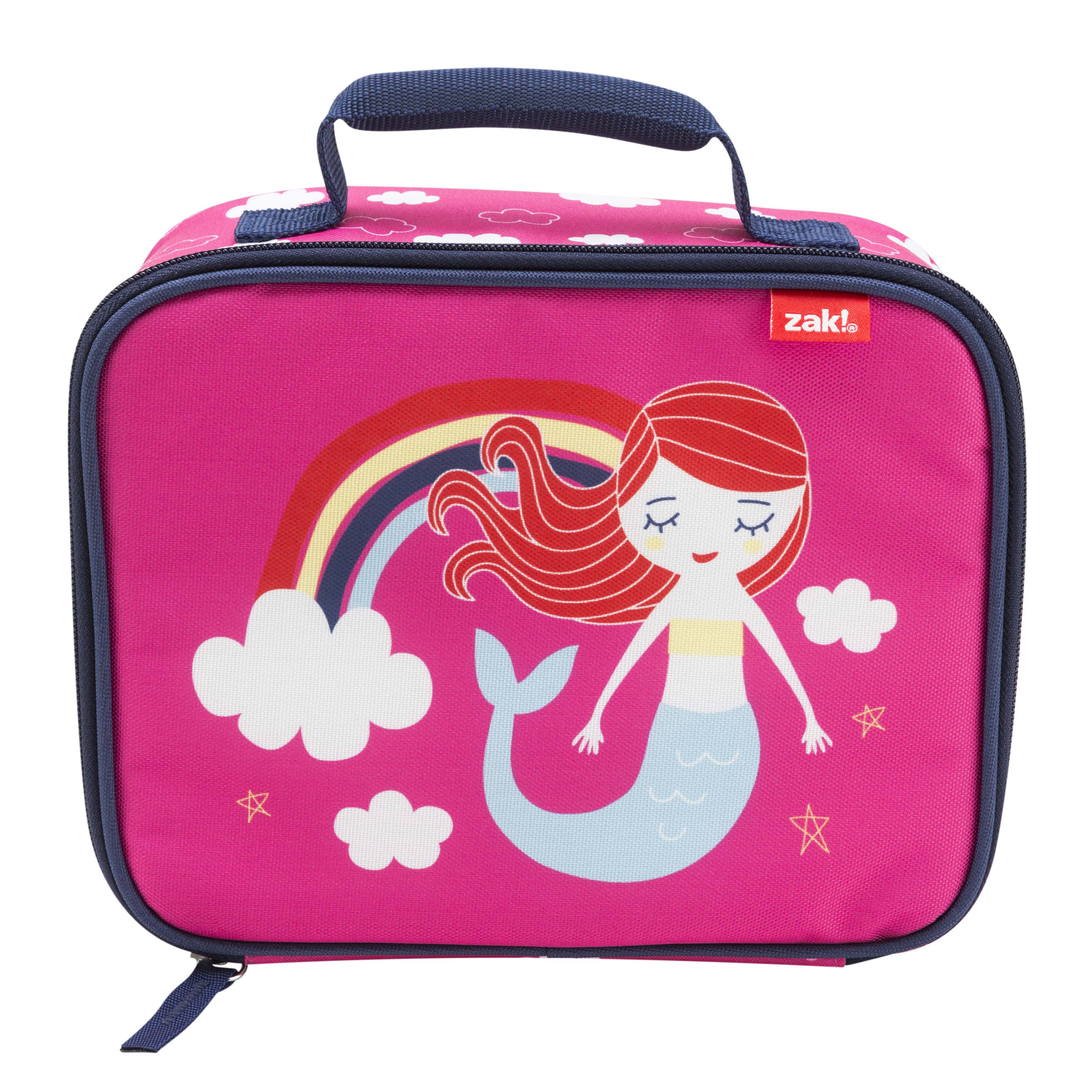 Happy Things Insulated Reusable Lunch Bag, Mermaids slideshow image 2