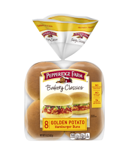 Pepperidge Farm® Golden Potato Hamburger Buns, split