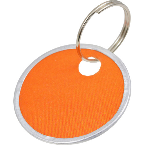 Colored Paper Tag Key Chains (1-1/4
