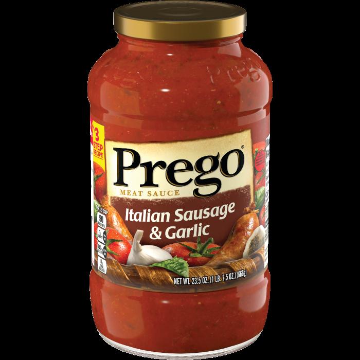 Italian Sausage & Garlic Meat Sauce