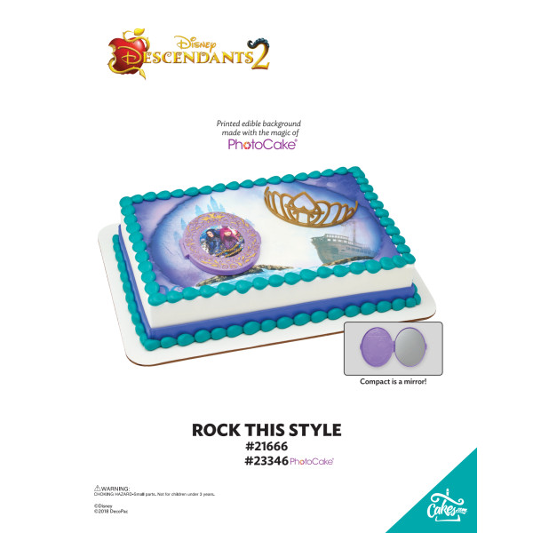 Descendants 2 Rock This Style DecoSet® The Magic of Cakes® Page