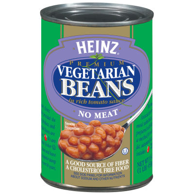 Heinz Vegetarian Beans in Rich Tomato Sauce 16 oz Can