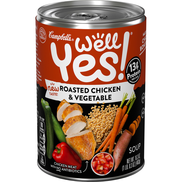 Roasted Chicken & Vegetables Soup